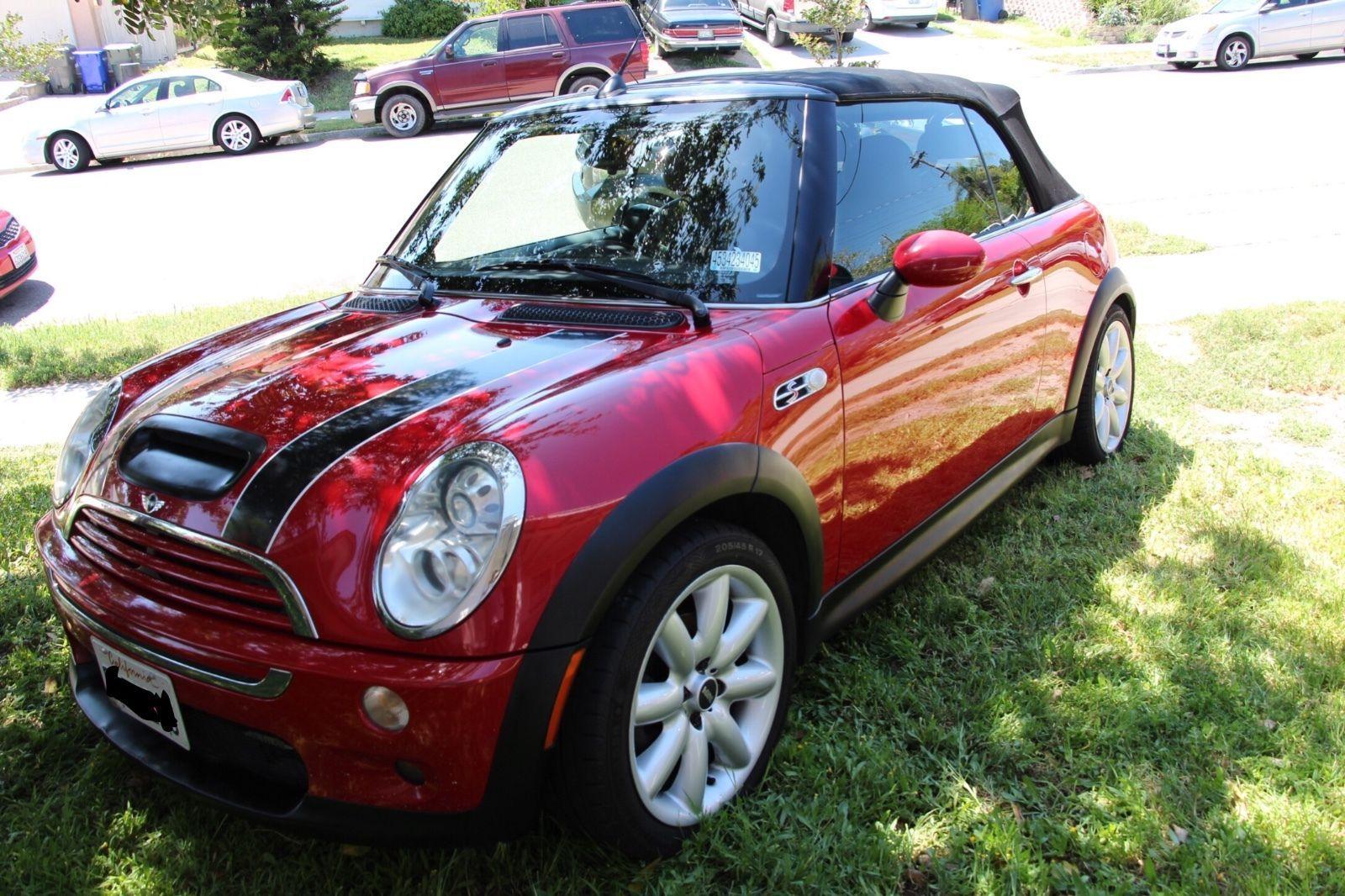 Ebay 2005 mini cooper s convertible 2005 mini cooper s jcw convertible minicooper