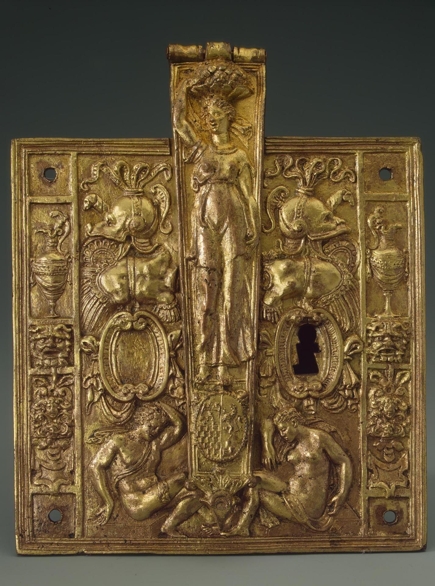 Door Lock France, Second half of the 16th century iron