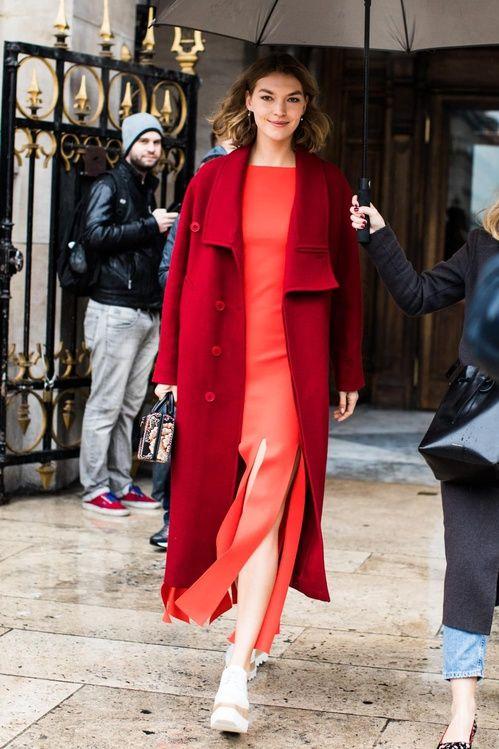 Street style dresses paris 2018