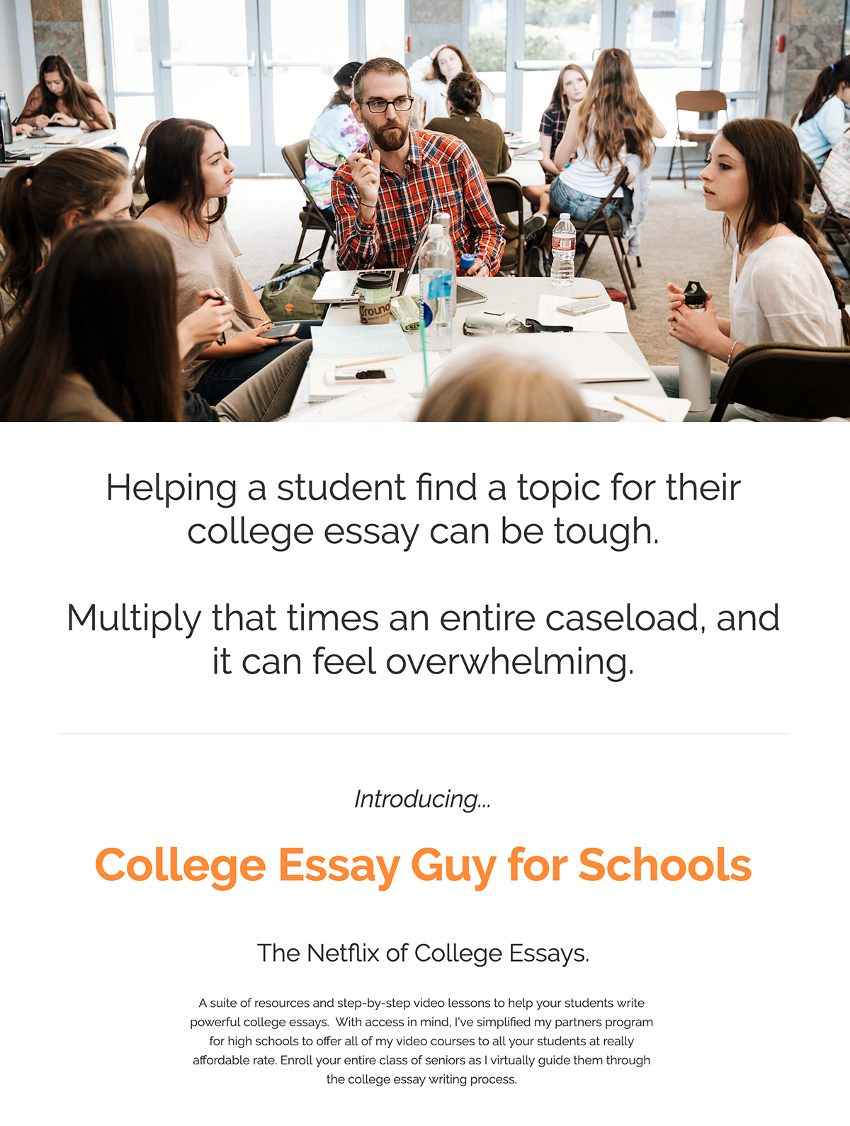 College application essay pay day
