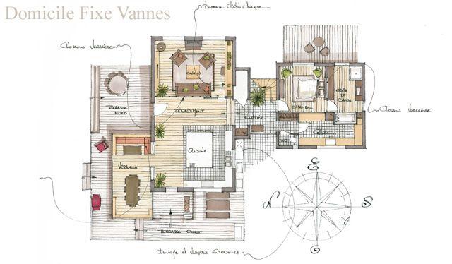 Architecture Croquis Perspectives Architecture Interieure Dessin Architecte Architecture
