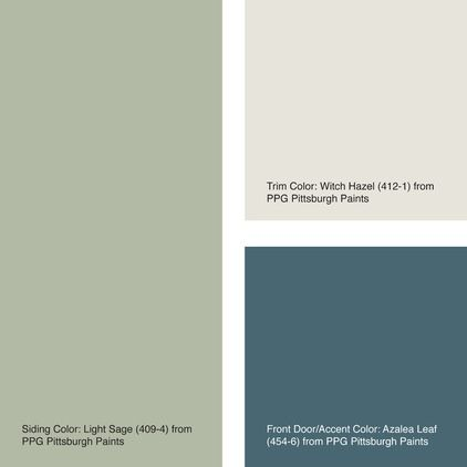 Exterior color of the week 6 ways with sage green decor - What color is sage green ...
