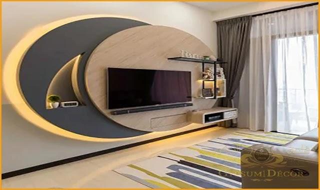مكتبات جبس بورد 2021 Design Interior Design Modern House