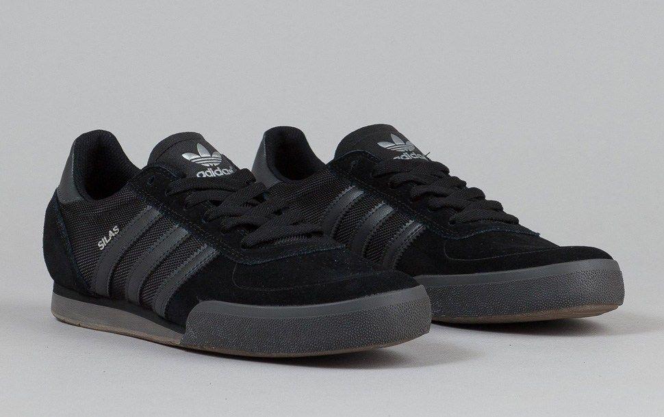 b1d8690b5a ... official adidas skateboarding silas slr black grey gum 4ae27 a00bf