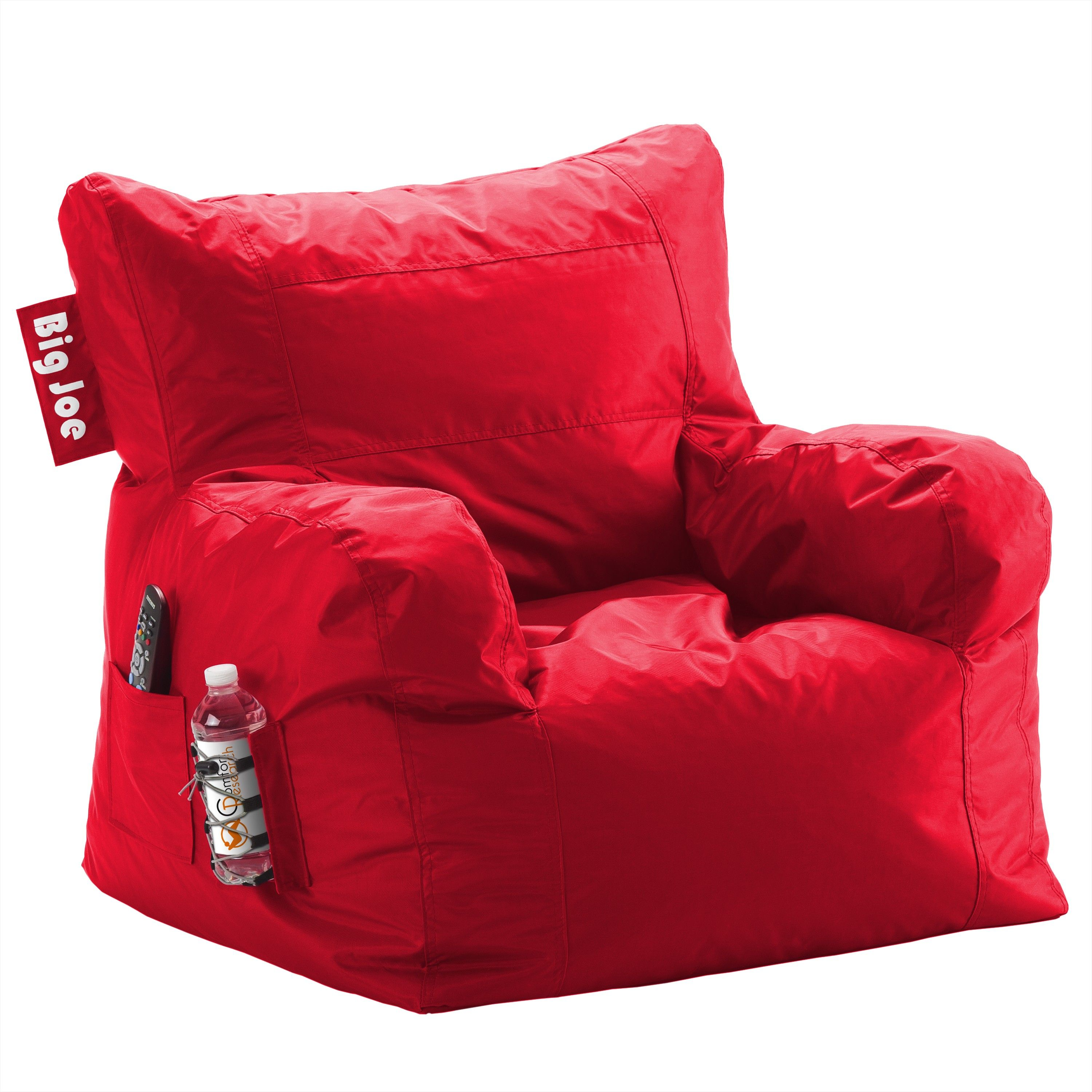 The Big Joe Dorm Bean Bag Chair Offers True Comfort When Its Time To Relax And