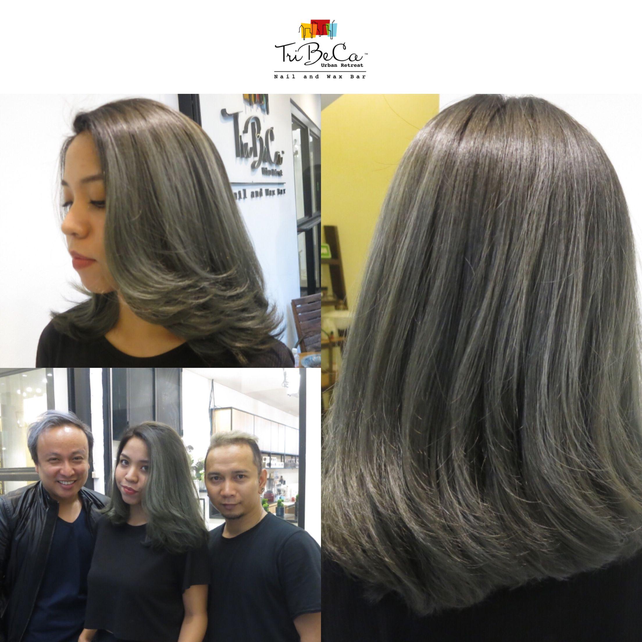 Grey Hair Color For Anisya Ilovetribeca Tribecaurbanretreat Haircolor Bandung Hair Makeup Grey Hair Color Hair