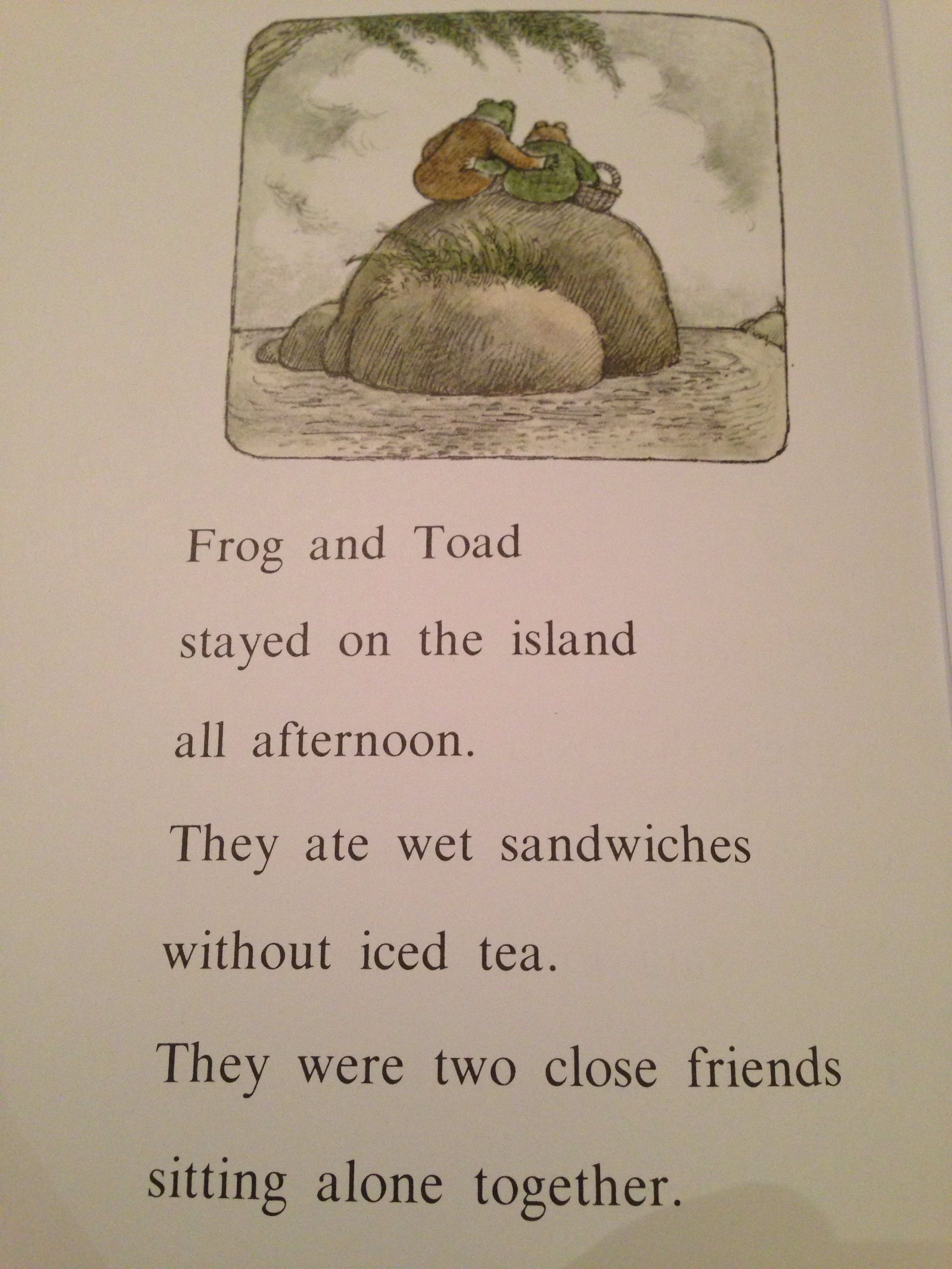 From The Frog Amp Toad Story Alone My Youngest Son Loves