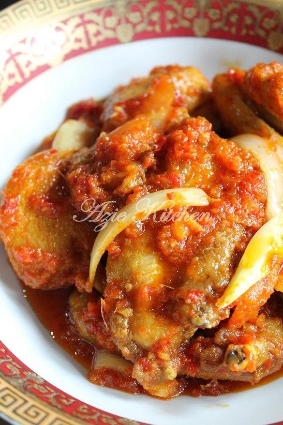 Azie Kitchen Ayam Masak Berlada Yang Serius Sedap Masakan Malaysia Resep Kari Resep Masakan Asia