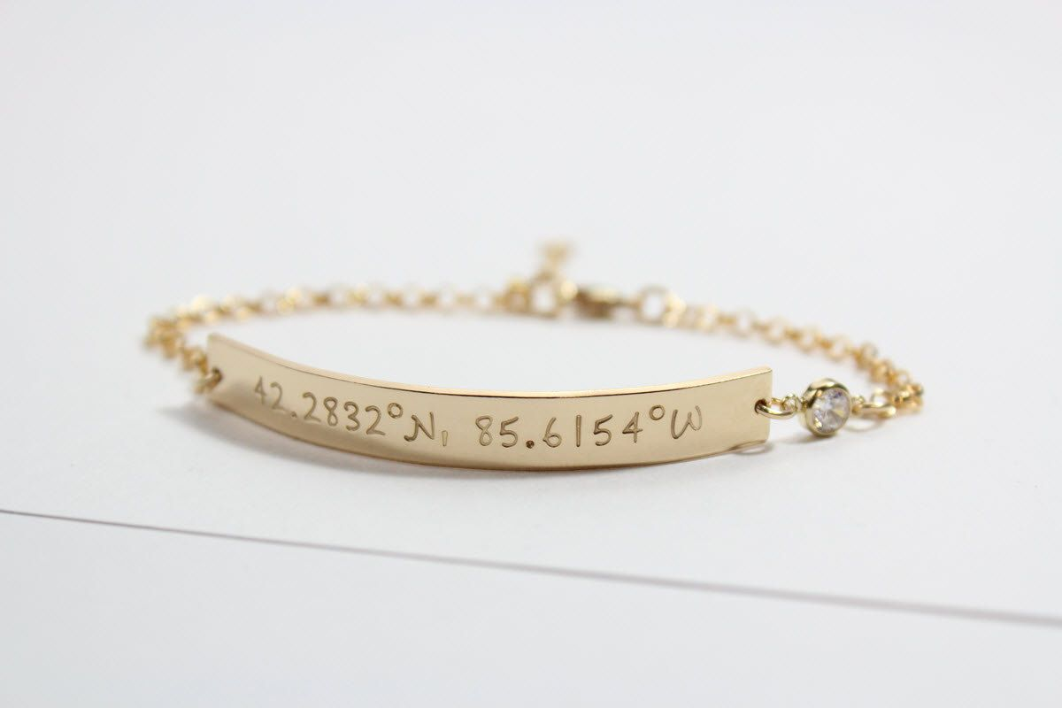 wedding media minimal mothers bracelet gift day coordinate