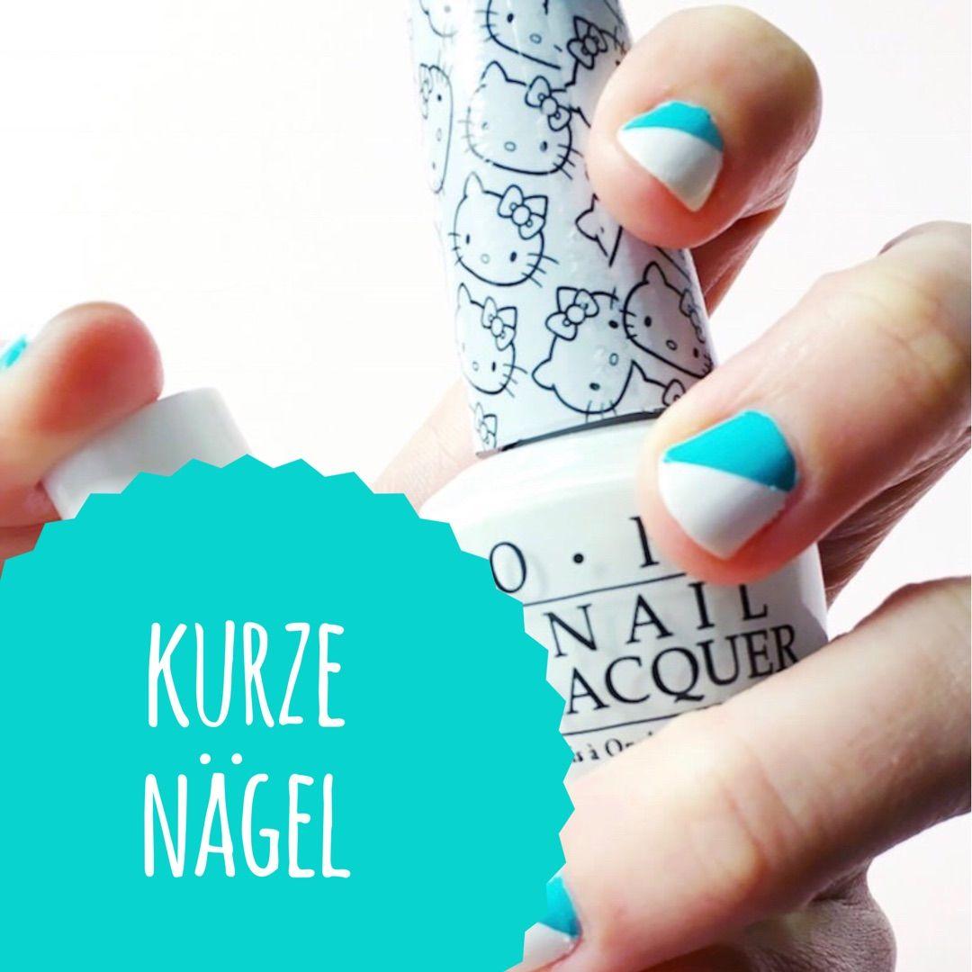Nageldesign Natur - schöne DIY Ideen für kurze Nägel - Maniküre ...