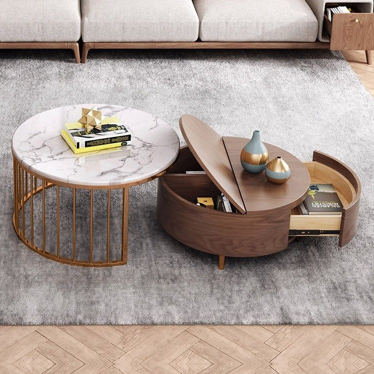 19+ White coffee table sets with storage ideas