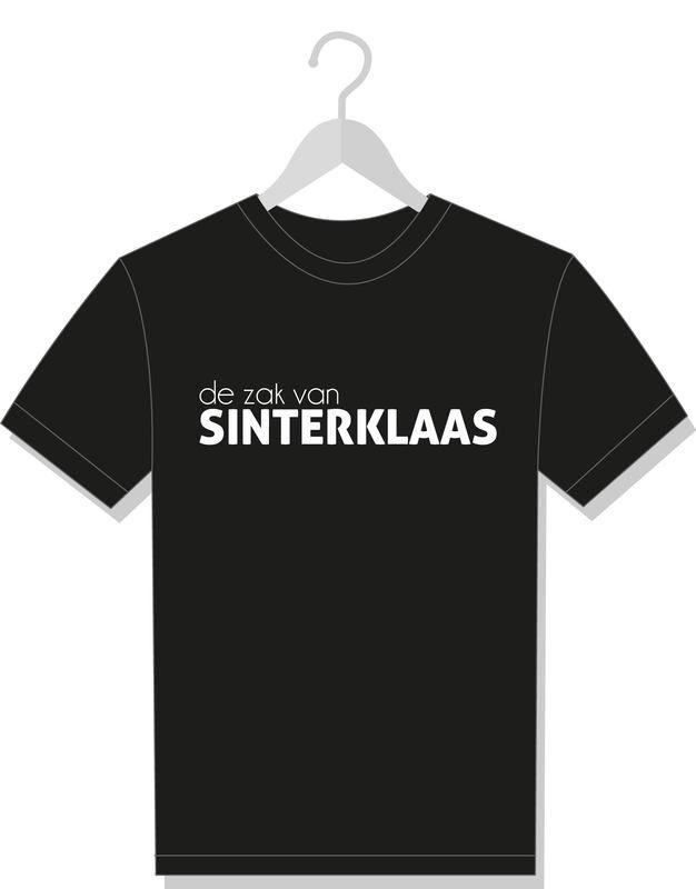 T-shirt 'de zak van Sinterklaas' #suededesign