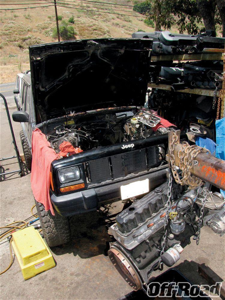 Jeep Cherokee Xj V8 Swap Startup Jeep Xj Jeep Cherokee Jeep