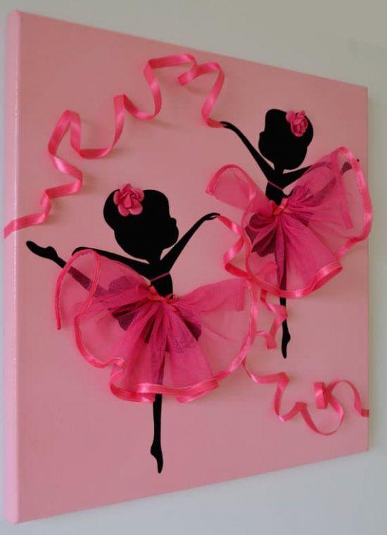 bce66ac95d Ballerina Wall Art Canvas Ideas The Best Collection