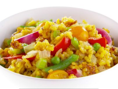 Check out vegetable paella its so easy to make spanish food vegetable paella recipe forumfinder Images