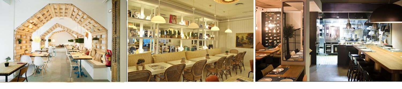 Restaurantes más bonitos de Madrid - Mr Frank - Dray Martina - La T Gastrobar