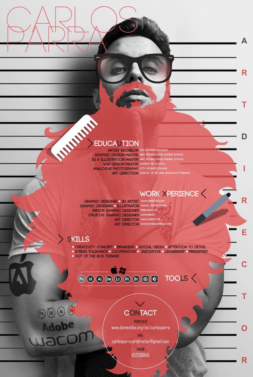 Carlos Parra (Director de Arte, CV) -1 … | Pinteres…