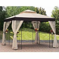 Big Lots Gazebo Replacement Canopy Covers and Netting Sets - Garden Winds  sc 1 st  Pinterest & Big Lots Gazebo Replacement Canopy Covers and Netting Sets ...