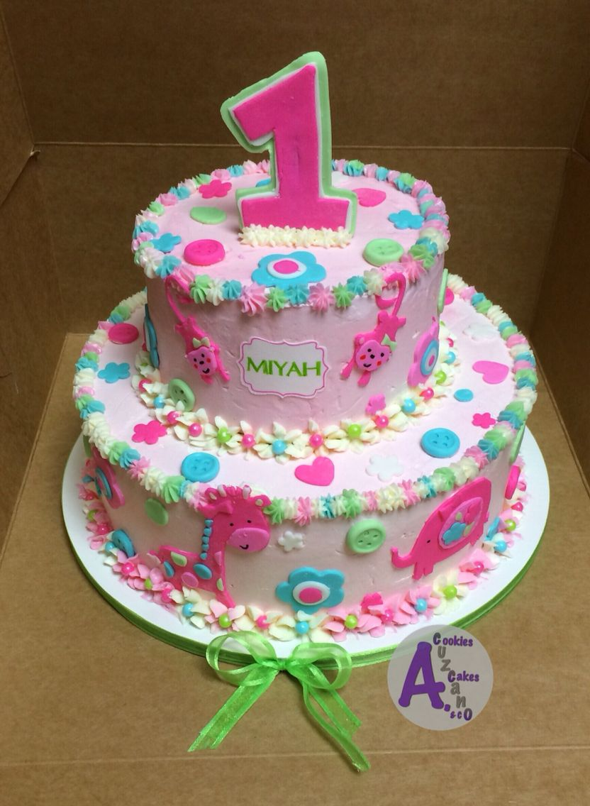 Fun to be one girl cake 12/13/15 (With images) First