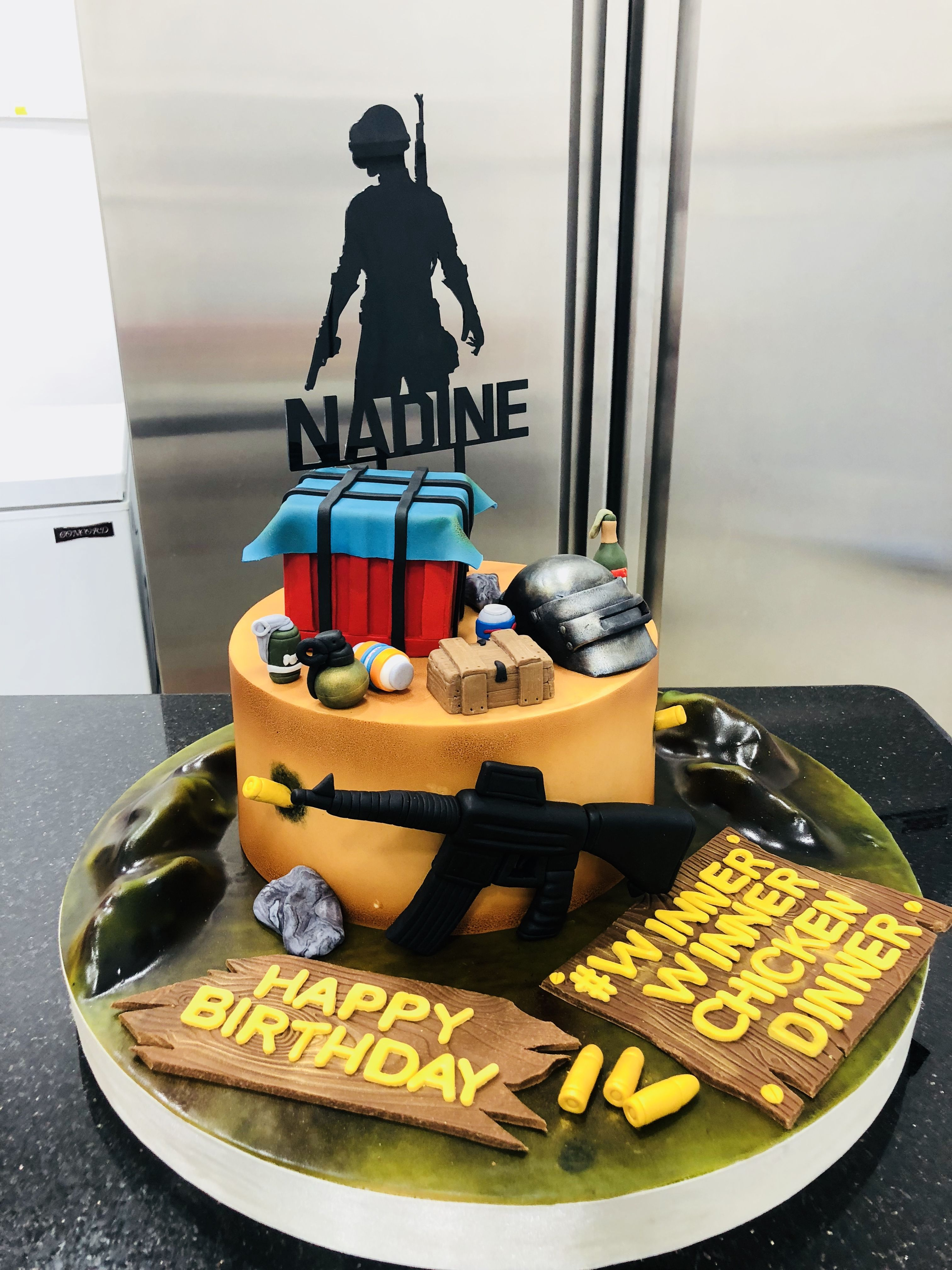 Pubg Cake By Abbas Ayoub Cakes By Abbas Ayoub In 2019 Cake