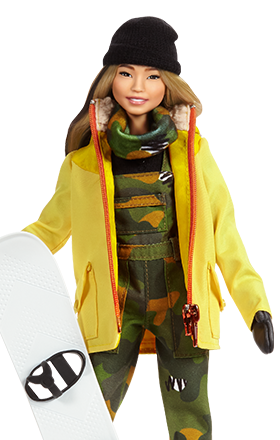Chloe Kim Snowboarding Champion Usa Barbie Role Models Inspiring Women You Can Be Anything Teenage Fashion Models Chloe Kim Fashion Teenage