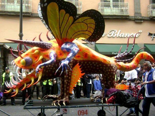 El Museo de Arte Popular invita a los Capitalinos en el 10° Desfile de Alebrijes Monumentales que se realizará el sábado 22 de Octubre 2016  a las 12:00 horas.