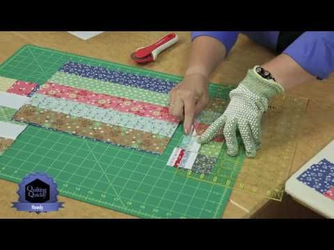 Quilting Quickly: Waves of Grain - Make a Lovely Quilt with Flannel Quilting Fabric! - YouTube