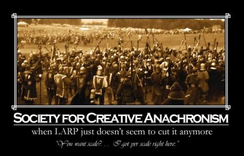 10 Reasons Why The Society for Creative Anachronism Will Survive ...