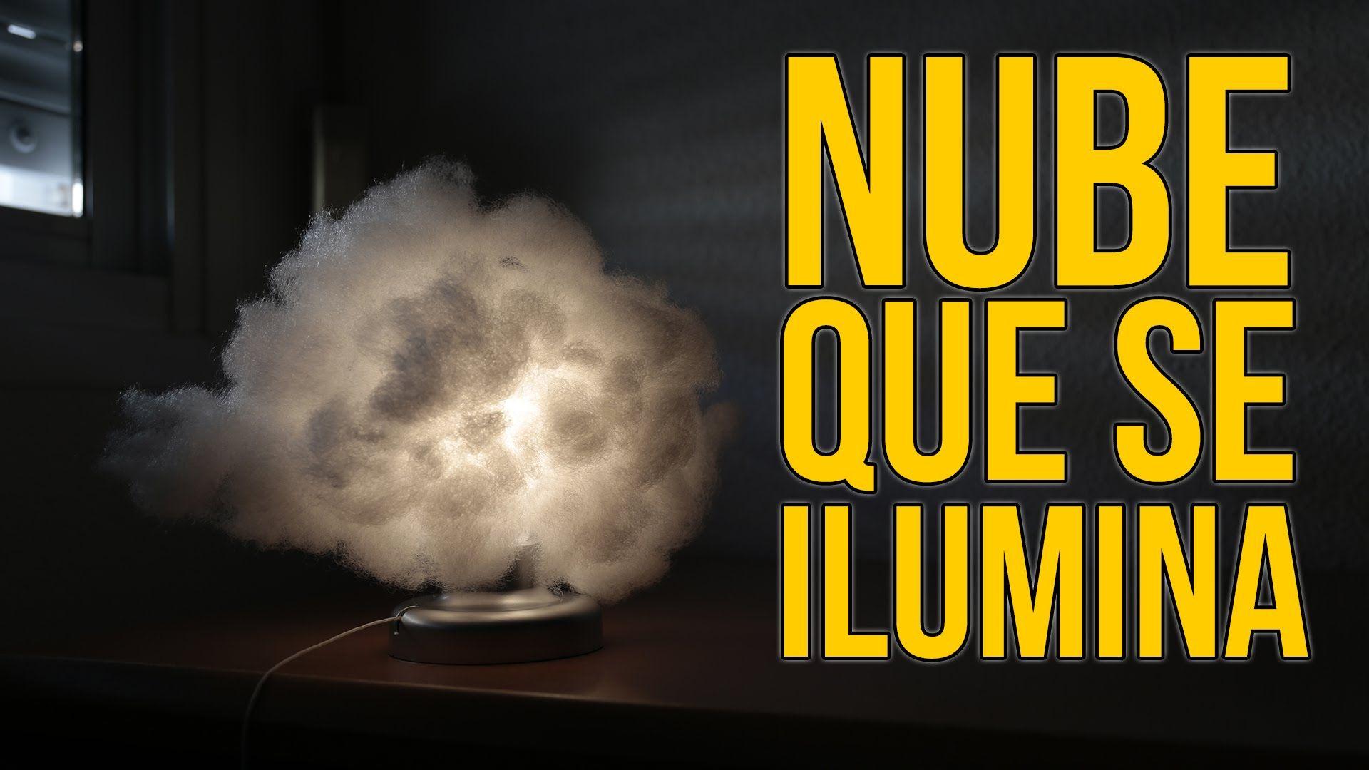 C mo hacer una nube que se ilumina experimentos caseros - Como hacer una nube ...