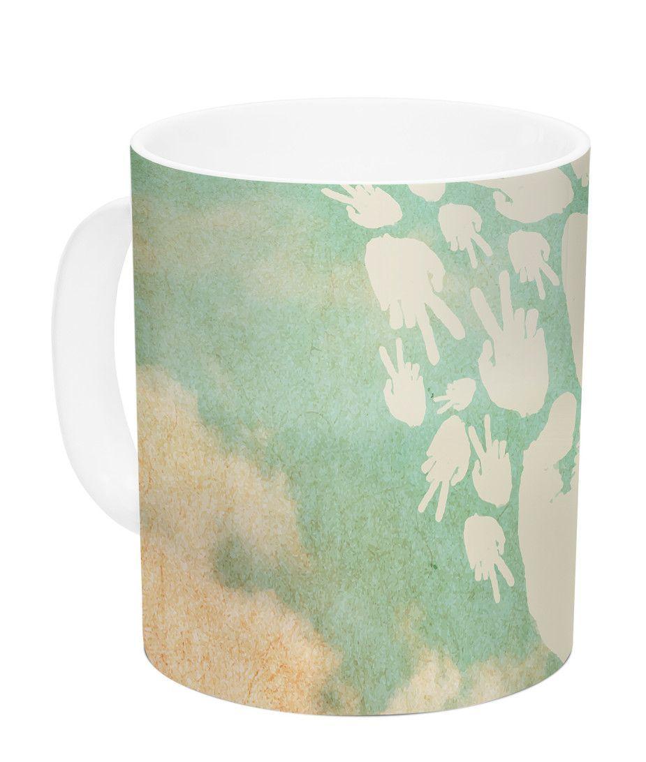 Serenity by KESS Original 11 oz. Ceramic Coffee Mug