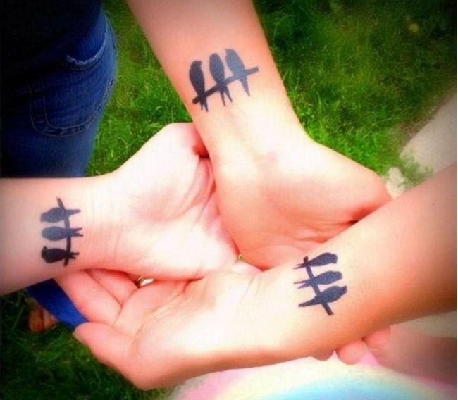 200+ Best Matching Best Friend Tattoos (BFF) nice Check more at ...
