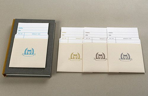 Printable library card