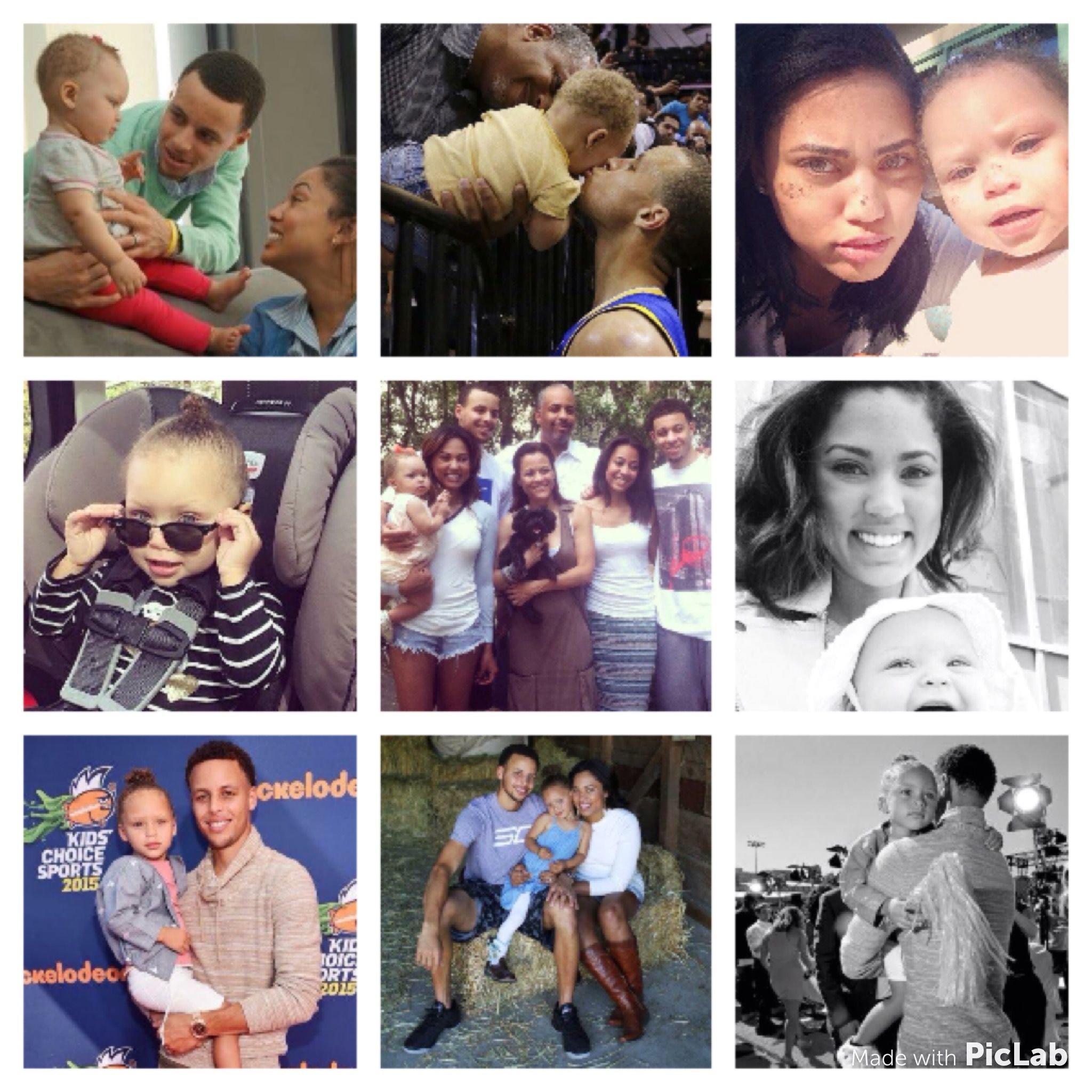 Happy 3rd birthday to this cutie Riley Curry ☺️