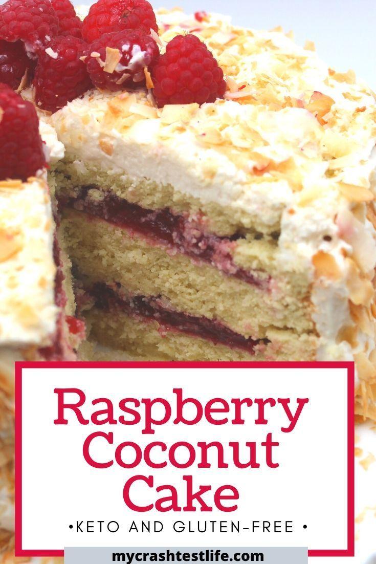Raspberry Coconut Cake (GlutenFree, Keto) My Crash Test