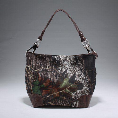 Licensed Mossy Oak Camouflage Handbag Purse Satchel Hobo by Mossy Oak, http://www.amazon.com/dp/B007W6OD1W/ref=cm_sw_r_pi_dp_uxlBrb1M2BAMP