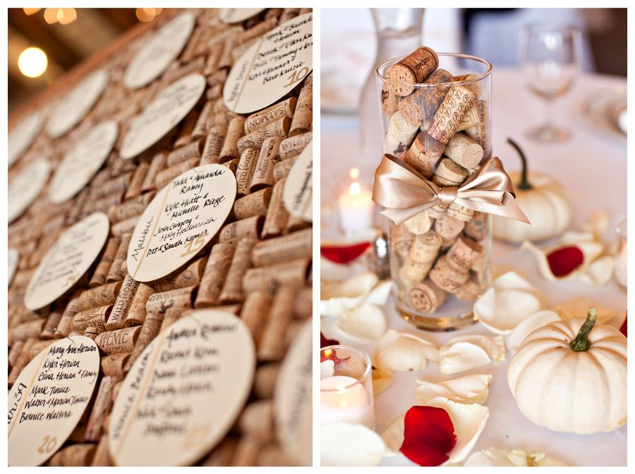 Wine Corks Board U2013 Perfect For A Winery Wedding. You Can Display The  Seating Chart