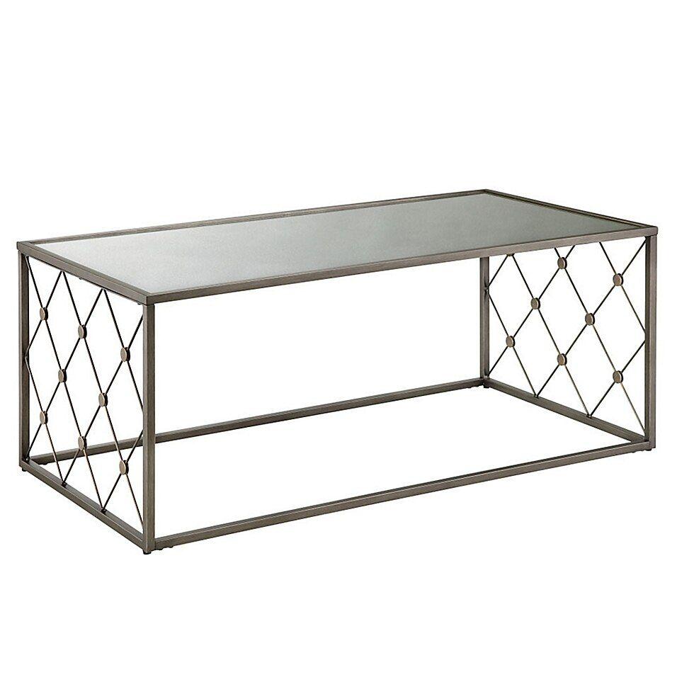 Martha Stewart Coyne Coffee Table In Coffee Bed Bath Beyond In 2020 Metal Base Coffee Table Coffee Table Cage Coffee Table