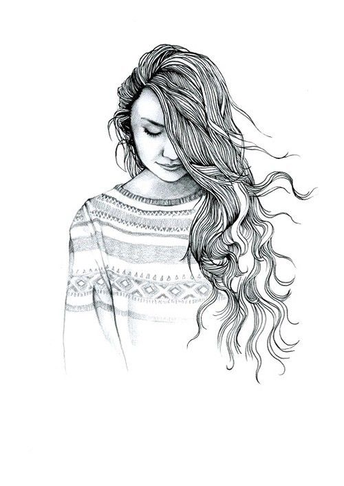 P I N T E R E S T Iamroosevelt Creative Pinterest - Barbie hair style drawing
