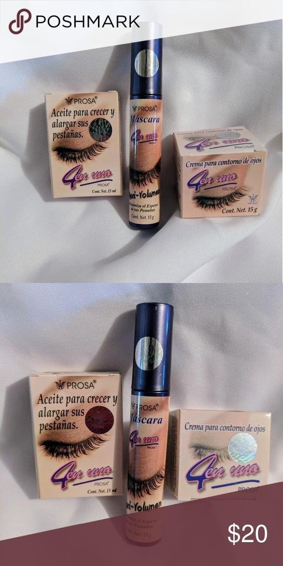 fae4e02bbc6 Prosa 4 en 1 Lash oil,Volume mascara, Eye contour This is the Lovely ...