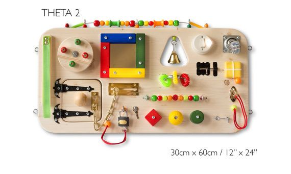 Busy Board Small Activity Board Sensory Board Montessori