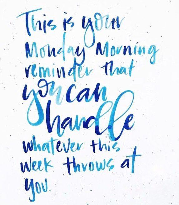 Monday #motivation...you got this.