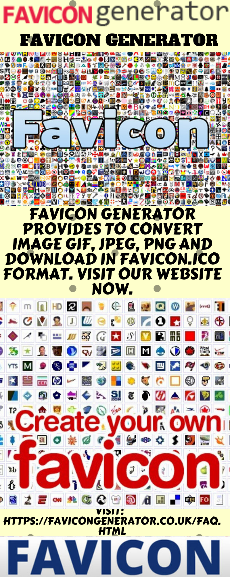 Favicon Generator Generation Web Page Icon Apple Icon
