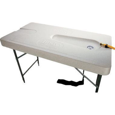 Lindy Fillet Table Fish Cleaning System At Cabela S Modern Tropical Pool Patio Outdoor Kitchen