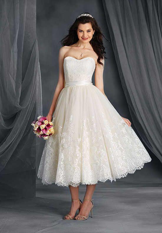 66068 Tea Length Wedding Dress Tea Wedding Dresses Tea Length