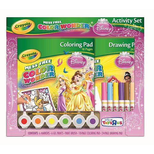 Crayola Color Wonder Activity Set - Disney Princess - Crayola - Toys ...