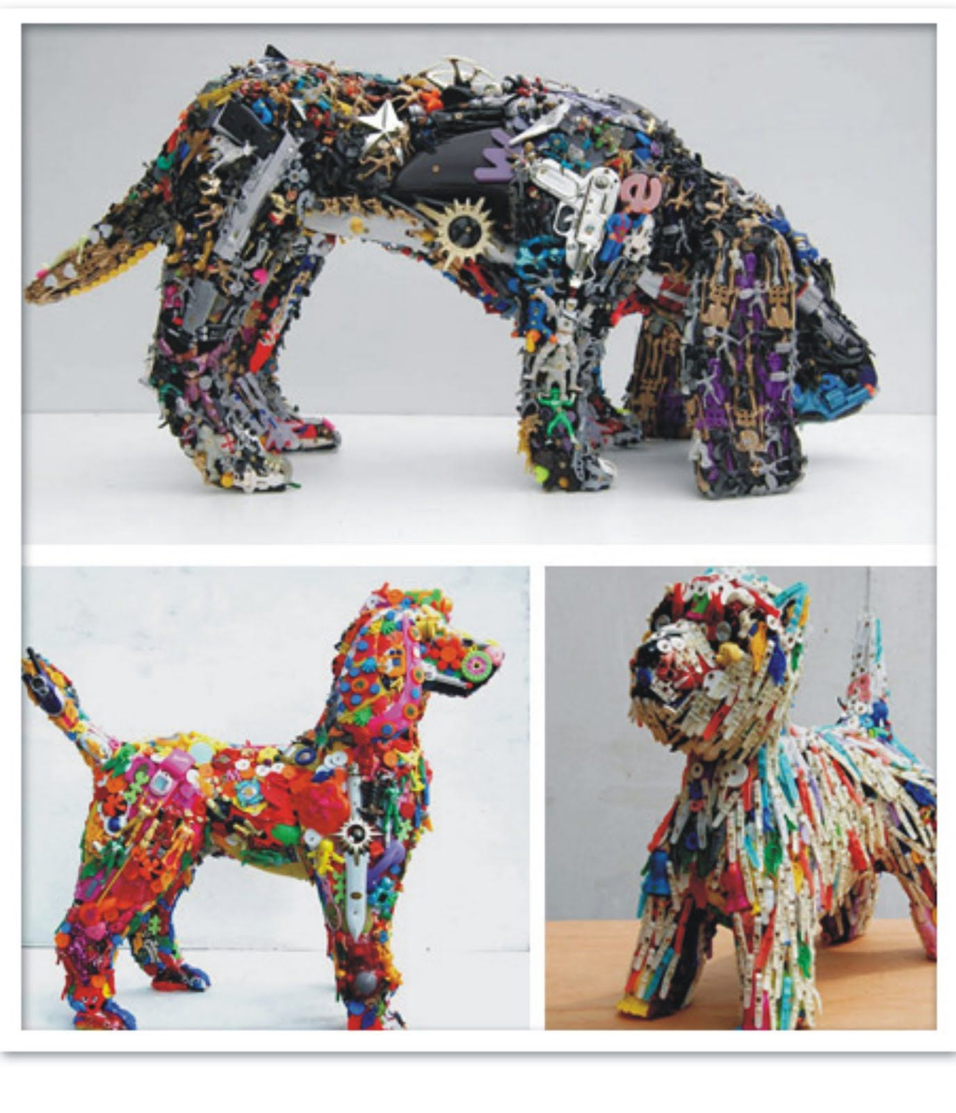 Pin by Lisa Guthrie on ART Recycled art projects