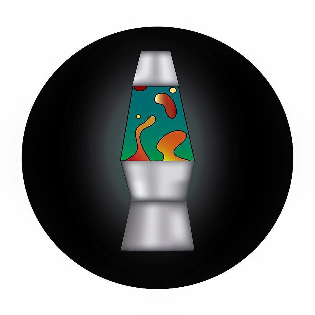 Lava lamp vector - Lava Lamp By Gudedesigns