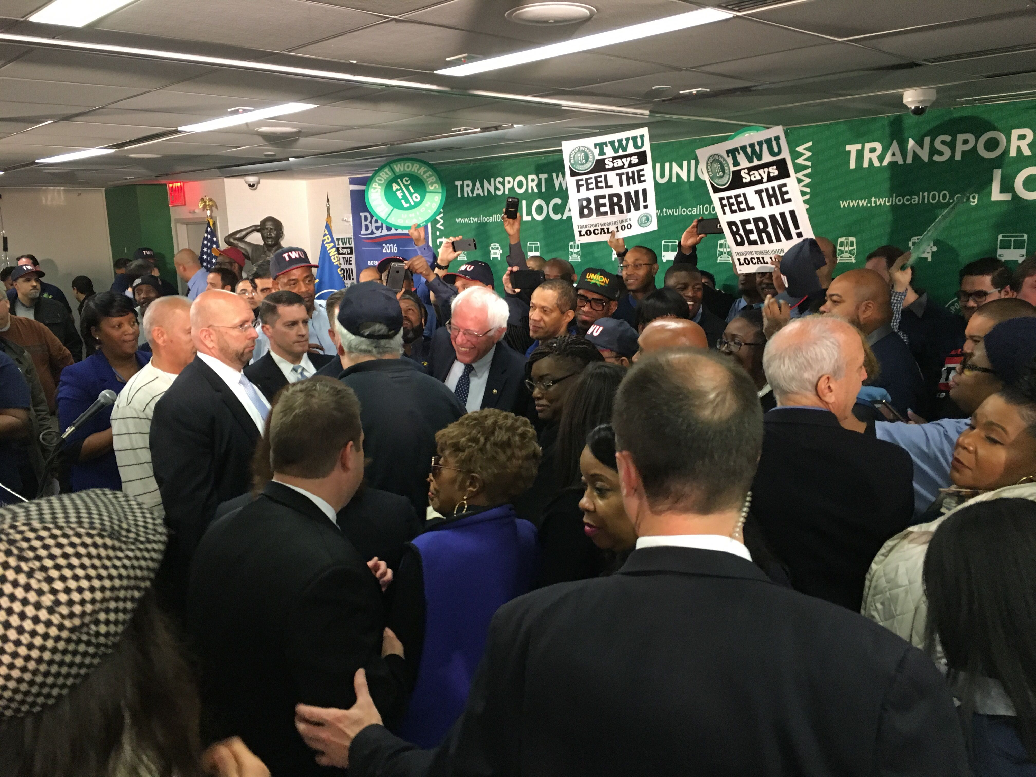 Bernie Sanders Just Scored a Powerful Endorsement in NYC