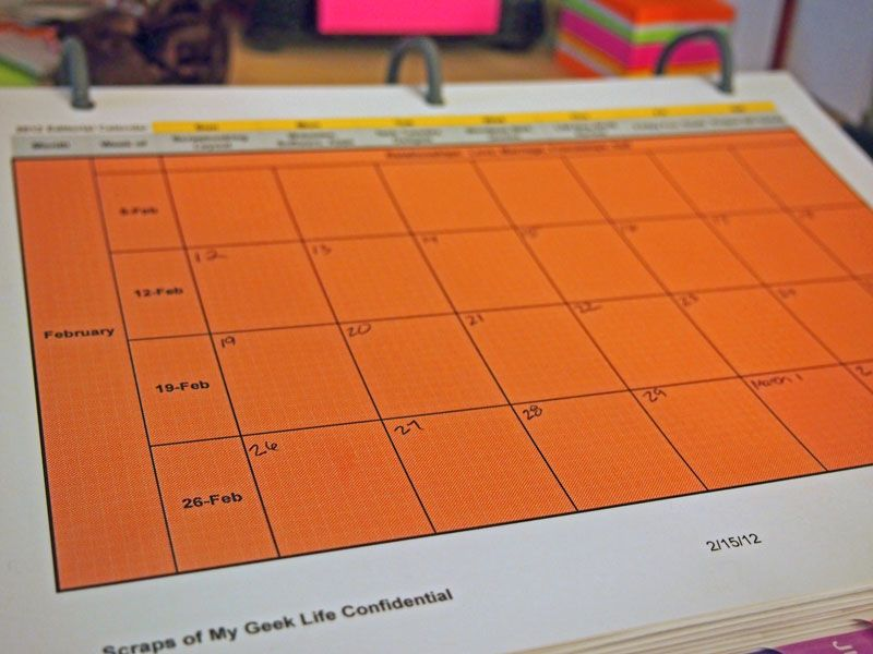 Free Editorial Calendar Template Download For Your Blog (2014