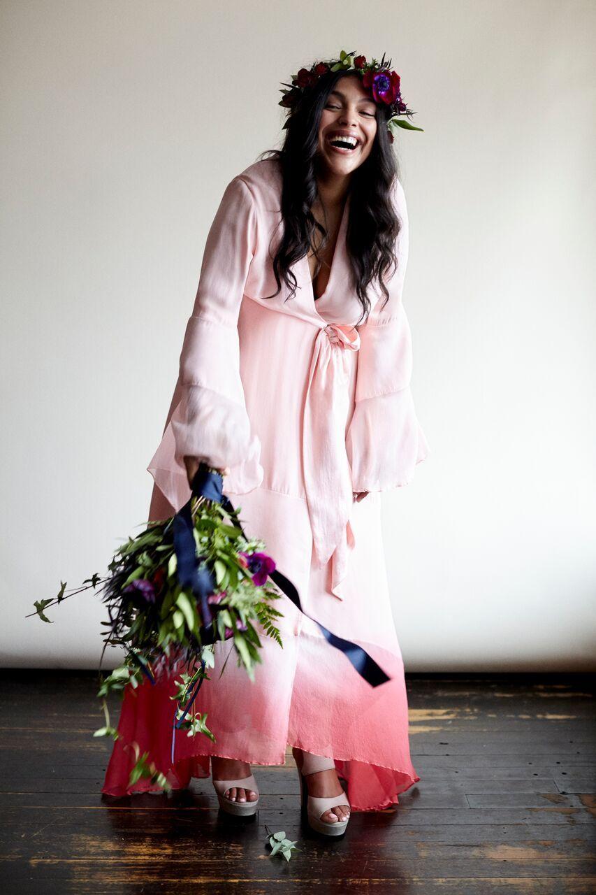 ELOQUII collaboration with ultra-chic bridal wear Stone Fox Bride